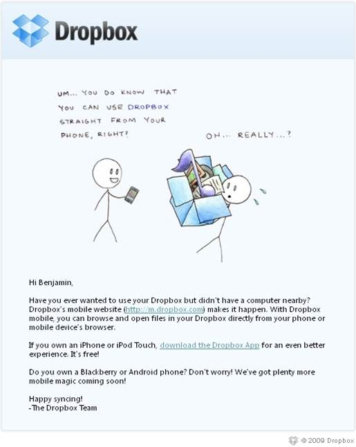 Dropbox-Email-Campaign