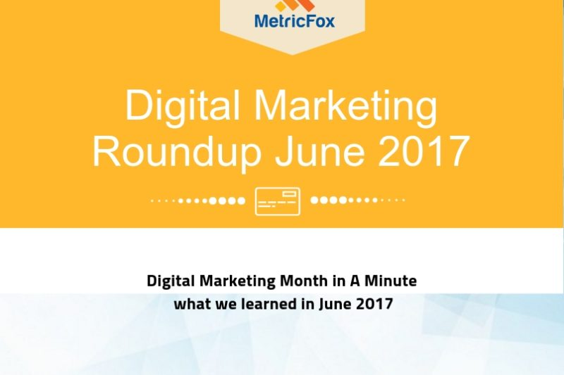 Digital Marketing Roundup in jun 17