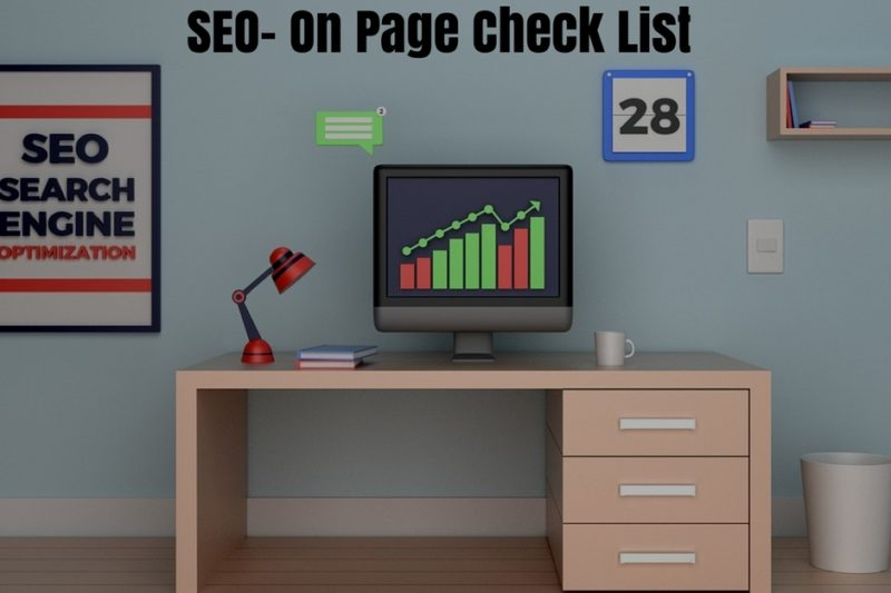 SEO- on Page- Check List