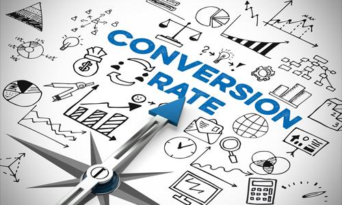 Organic conversion rate