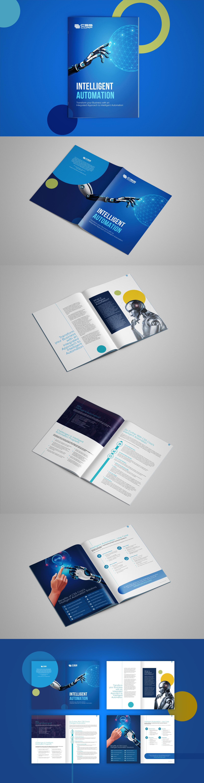 CSS Intelligence automation Brochure mockup