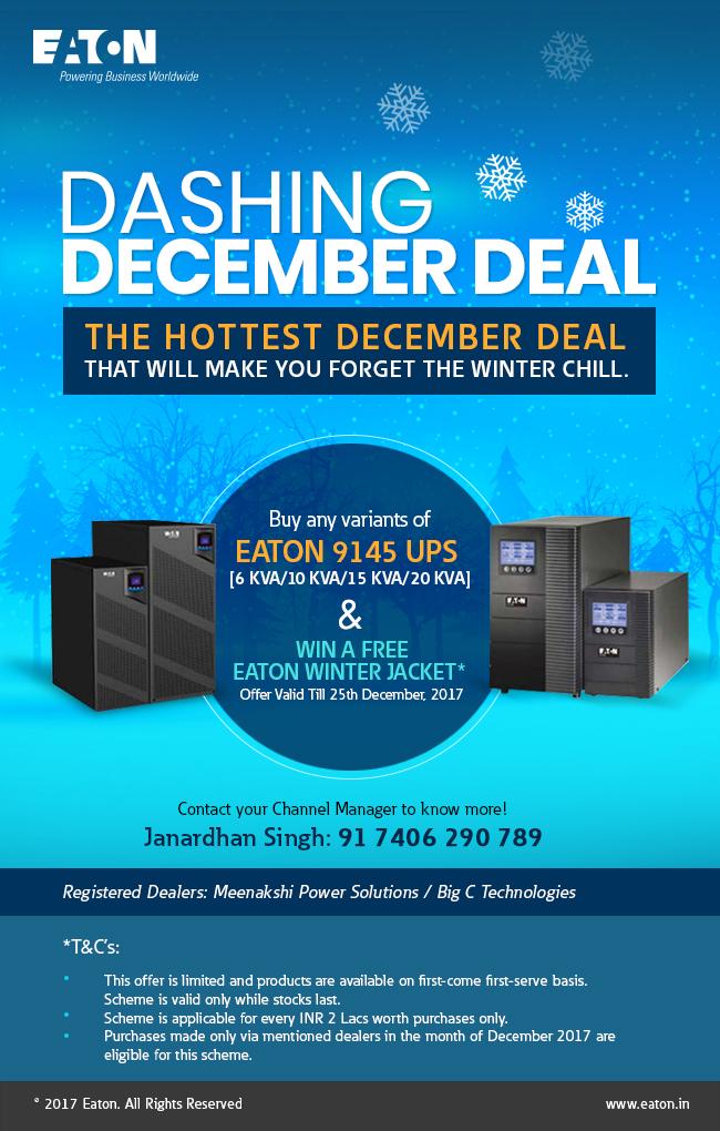 Dashing December Deal